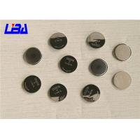 Buy cheap High Capacity Cr2016 3v Lithium Battery , Standard  CR2016 Coin Cell Battery from wholesalers