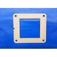Wholesale Industrial Ceramic Parts Zirconia Flame 97% Alumina Ceramic 4 Bolt Hydraulic Square Flange from china suppliers