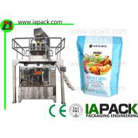 Wholesale Full Automatic Zipper Bag Pet Food Packing Machine Pet Snacks Stand Up Pouch Filling Sealing Machines Premade from china suppliers