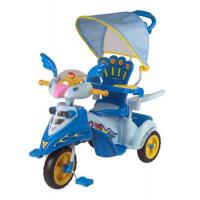 Wholesale Lovely Bird Baby Smart Trike With Basket , Blue Children Tricycle from china suppliers