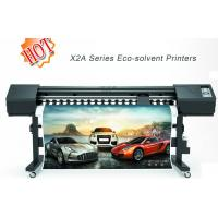 Wholesale Printable Adhesive Vinyl Printers , Wide Format Eco Solvent Printers from china suppliers