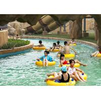Wholesale Outdoor Water Park Swimming Pool Lazy River With Wave Making Machine from china suppliers