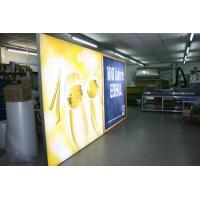 Wholesale 6cm signle side background light box PRO CASE PLAKATSCHAUKÄSTEN  Világító forgóoszlop from china suppliers