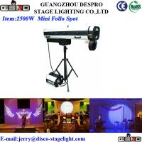 Wholesale 2500W Strobe Stage Follow Spotlights Outdoor Event Stage Effect Light from china suppliers