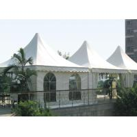 Wholesale Waterproof Outdoor Luxury Pagoda Party Tent , 20 X 20 High Peak Frame Tent from china suppliers