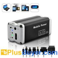 Wholesale 9000 mAh Mini USB Battery Charger with 7 connectors from china suppliers
