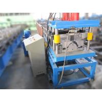 Wholesale 3T 4KW Ridge Cap Roll Forming Machine Hydraulic Cutting PLC Touch Screen Control from china suppliers