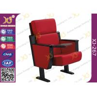 Wholesale Full Upholstered Metal Framework Church Auditorium Seating With Wood Outerback / Seat Pan from china suppliers