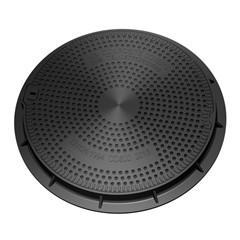 Quality 600mm B125 composite manhole cover&Frame for sale