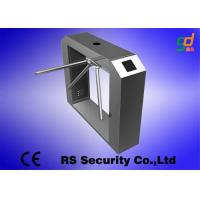 Wholesale Intelligent Tripod Turnstile Gate Bi-direction Control Pedestrian Barrier Gate from china suppliers