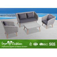 Wholesale Hot Selling Eco-Friendly Aluminium Sofa Sets Garden Furniture Set Outdoor from china suppliers
