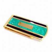 Wholesale Men's Money Clip with Two Strong Force Magnets, Available in Various Designs from china suppliers