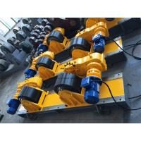 Wholesale 40 Ton Bolt Shift Adjustment Self Aligned Welding Rotator Inverter Driving from china suppliers