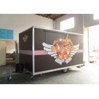 Wholesale Snack Food Shop Mobile Catering Vans With Customized Sticker from china suppliers