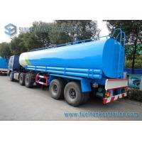 Wholesale Drinking Water Tanker Trailer 40000 L SUS304 2B Chemical  Liquid Tank Trailer from china suppliers
