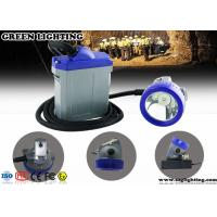 Wholesale Explosion Proof Wired Electric Miners Lamp , 15000 Lux IP67 LED Mining Lamp  from china suppliers