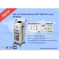 Wholesale Combined e-light nd yag laser hair removal settings , skin care machine from china suppliers