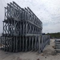 Wholesale Painted Bailey Suspension Bridge Q345B Temporary Prefabricated Steel Bridges from china suppliers