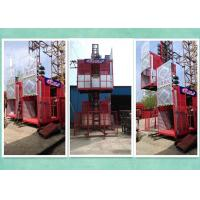 Wholesale Relible Electric 2 Motor Rack And Pinion Hoist  For High Rise Building Construction from china suppliers