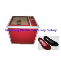 Wholesale High Efficiency Flock Coating Machine For PVC Sandals / Plastic Women Shoe from china suppliers