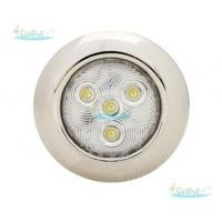 "Wholesale 3"" / 4"" TiN Plated LED Puck Light , 0.5W Stainless Steel Recessed Puck Lights from china suppliers"