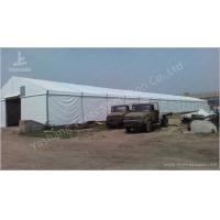 Quality Sliding Gate Logistics White Industrial Canopy Shelter Outside Storage Tent for sale