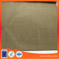 Wholesale Golden color Outdoor mesh Fabrics Patio Furniture Sling Fabric by the Yard from china suppliers