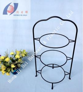 Quality Popular 3- tier dessert holder/ dish holder/ plate holder for sale