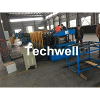 Wholesale Hydraulic Pre - Punching Ladder Cable Tray Making Machine 0-15m/min from china suppliers