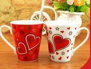 Wholesale 300Ml temperature sensitive color change ceramic mug / personalised heat sensitive coffee mug from china suppliers