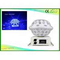 Wholesale Disco Dj Stage Light 6x3w Led Crystal Magic Ball Light Non - Polar Rotation Up And Down Moval Light from china suppliers