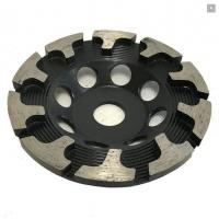 Buy cheap T Type Segment Diamond Cup Wheel for Concrete Grinding , hard granite and engineered stones from wholesalers