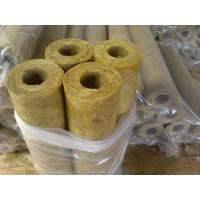 Fireproof mineral wool insulation pipe of item 101151486 for Rockwool pipe insulation prices