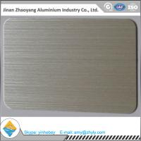 Wholesale 6063 T6 temper size 30mmX1220mmX2440mm aluminum brush sheet from china suppliers