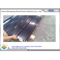 Wholesale 3003 Aluminum Magnesium Corrugated Aluminum Ridge Tile Metal Roofing Sheet from china suppliers