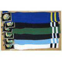 Wholesale Double Stripes Cotton Children Football Socks Multi Colors Sport Tube stockings from china suppliers