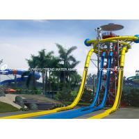 Wholesale Extraterrestrial Fiberglass Water Slides / Park Open Spiral Water Slide New Style Water Slide from china suppliers