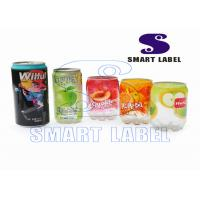 Wholesale Multi - Pack Printed Heat Shrink Sleeves for Milk Bottle 8 Colors / 0.035mm from china suppliers