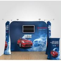 Quality Formulate Stretch Hop Up Fabric Display Stand For Exhibition for sale