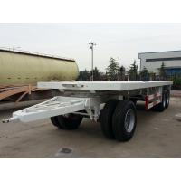 Wholesale 27 Feet-3 Axles-Draw Bar Flat Bed Trailer from china suppliers