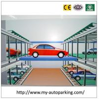 Wholesale Smart Card and Touch Panel Coneyor Intelligent Garage Stacking Car Parking System from china suppliers