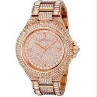Buy cheap Michael Kors MK5862 MK5869 MK5720 Camille Crysta Pave Quartz Stainless Rose Gold MK WristWatch from wholesalers