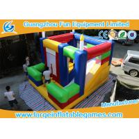 Wholesale Customized Color Inflatable Bouncy Castle Inflatable Kids Area 4*4.8*4.2m from china suppliers