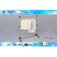 Buy cheap Rotating Metal Pipe DIY Clothes Rack Single Pole Coat Hanger Racks Heavy Duty Type from wholesalers