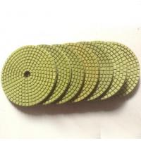 Wholesale Economic flexible green wet polishing pads from china suppliers
