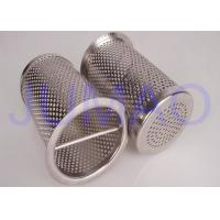 Wholesale Industrial 316 SS Basket Filter Elements / Sintered Wire Mesh Filter Baskets from china suppliers