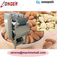 Wholesale Wet Almond Skin Peeling Machine|Almond Skin Removing Equipment Manufacturers|Apricot Peeler Machine from china suppliers