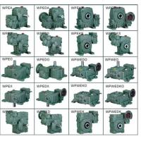 Wholesale 1400RPM WPO/WP Industrial Speed Reducer With 33kw Electrical Motor from china suppliers