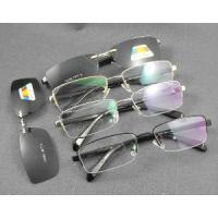 Wholesale Man′s Polarized Clip on Glasses Frame (9052) from china suppliers