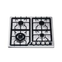 Wholesale Kitchen 4 Burner Gas Hob Gas Cooktop With Auto Igntion / Cast Iron Pan Support from china suppliers